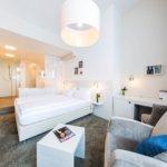 Unser Badezimmer im fjord hotel berlin der LINDEMANN HOTELS®